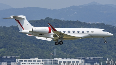 VP-CKV - Gulfstream G650 - Private