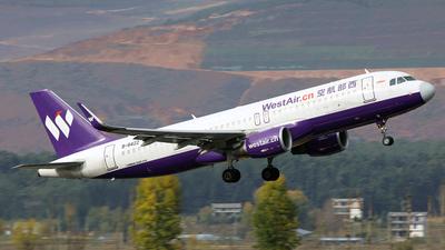 B-8422 - Airbus A320-214 - West Air