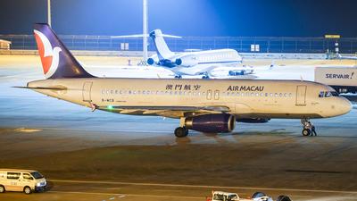 B-MCB - Airbus A320-232 - Air Macau