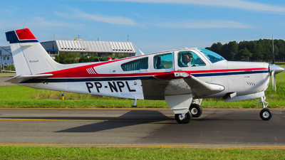 PP-NPL - Beechcraft F33A Bonanza - Private