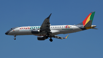 A picture of CP3133 - Embraer E190STD - Amaszonas - © Tiago Deivid