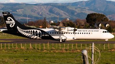 ZK-MVU - ATR 72-212A(600) - Air New Zealand Link (Mount Cook Airline)