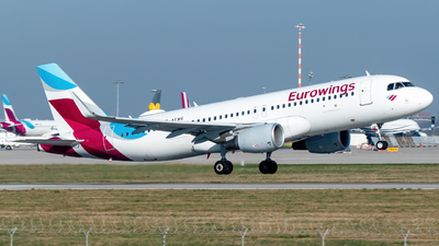 A picture of DAEWG - Airbus A320214 - Eurowings - © marfi80