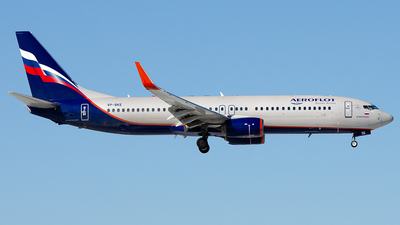 A picture of VPBKE - Boeing 7378LJ - Aeroflot - © OSDU