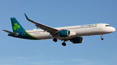 A picture of EILRC - Airbus A321253NX - Aer Lingus - © Airlinergeek