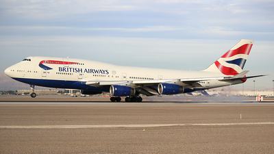 G-CIVU - Boeing 747-436 - British Airways