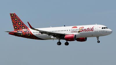 PK-LAP - Airbus A320-214 - Batik Air
