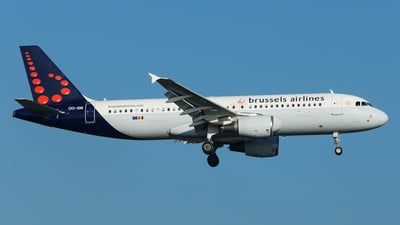 OO-SNI - Airbus A320-214 - Brussels Airlines