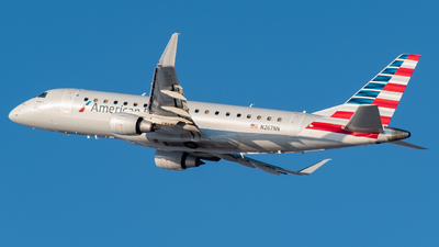 A picture of N267NN - Embraer E175LR - American Airlines - © MSPlane Spotter