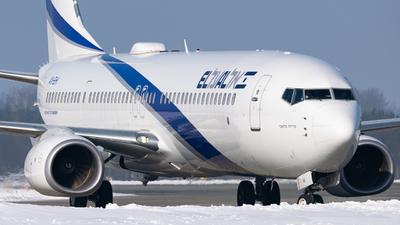 A picture of 4XEHI - Boeing 737958(ER) - El Al - © Antoni Dragon