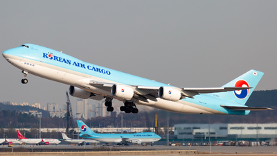 HL7609 - Boeing 747-8HTF - Korean Air Cargo