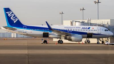 JA02VA - Airbus A320-214 - All Nippon Airways (ANA)