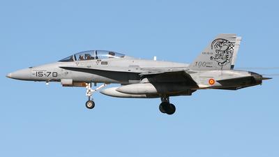 CE.15-01 - McDonnell Douglas EF-18B Hornet - Spain - Air Force