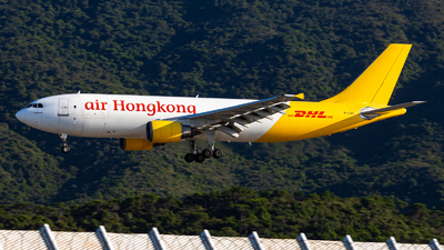 A picture of BLDG - Airbus A300F4605R - DHL - © Angus Chae - Skies of Pearl