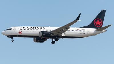 A picture of CFSNU - Boeing 737 MAX 8 - Air Canada - © bill wang