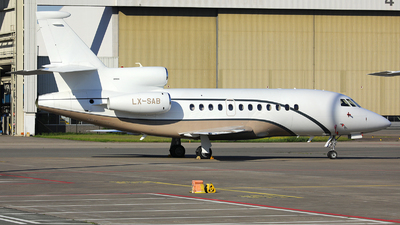 LX-SAB - Dassault Falcon 900DX - Global Jet Luxembourg