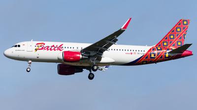 OE-LAR - Airbus A320-214 - Batik Air