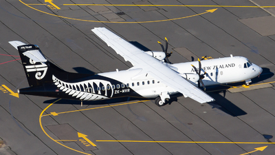 ZK-MVR - ATR 72-212A(600) - Air New Zealand