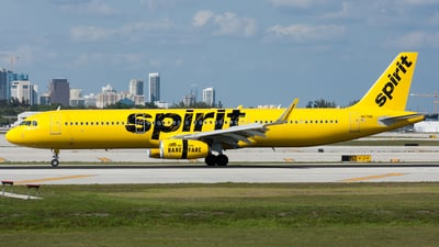 N671NK - Airbus A321-231 - Spirit Airlines