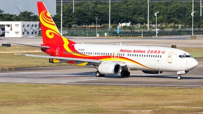 B-5083 - Boeing 737-883 - Hainan Airlines