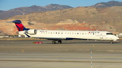 A picture of N831SK - Mitsubishi CRJ900LR - Delta Air Lines - © Michael Rodeback