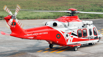 812 - Agusta-Westland AW-139 - Bangladesh - Air Force