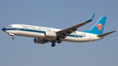 A picture of B1950 - Boeing 73781B - China Southern Airlines - © faks