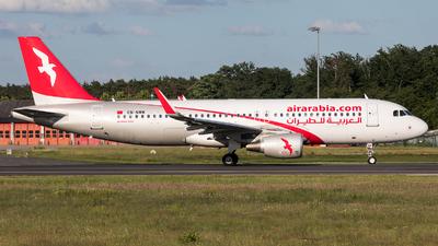 CN-NMM - Airbus A320-214 - Air Arabia Maroc
