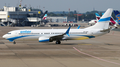 SP-ESG - Boeing 737-8Q8 - Enter Air