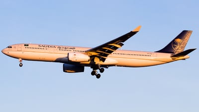 A picture of HZAQ21 - Airbus A330343 - Saudia - © Lukas Henrique - LK Spotter