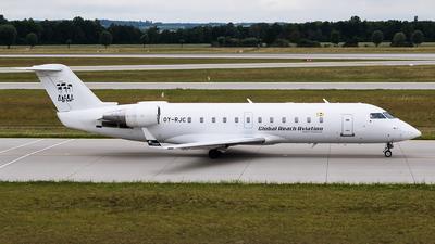 OY-RJC - Bombardier CRJ-100LR - BackBone Aviation