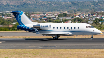 A picture of N818AF - Bombardier Challenger 604 - [5395] - © Alfredo La Red
