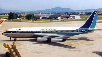OO-TEB - Boeing 720-048B - TEA - Trans European Airways