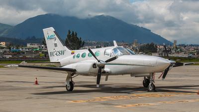 HC-CSW - Cessna 421C Golden Eagle - West Airways