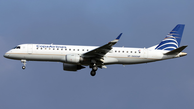 A picture of HP1563CMP - Embraer E190AR - [19000098] - © Juan Manuel Temoche - SPJC Spotter