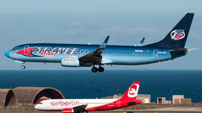HA-LKE - Boeing 737-86Q - Travel Service Hungary