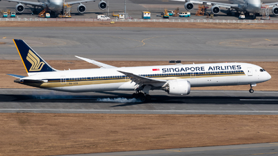 9V-SCG - Boeing 787-10 Dreamliner - Singapore Airlines