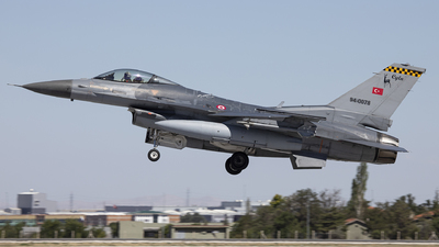 94-0078 - General Dynamics F-16C Fighting Falcon - Turkey - Air Force