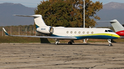 N80AD - Gulfstream G550 - Private