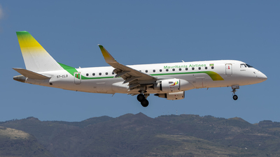 A picture of 5TCLO - Embraer E175LR - Mauritania Airlines International - © Leandro Hdez