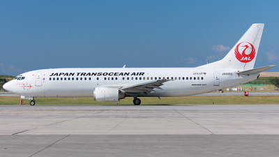 JA8993 - Boeing 737-446 - Japan TransOcean Air (JTA)