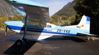 ZK-VKE - Cessna 185A Skywagon - Private