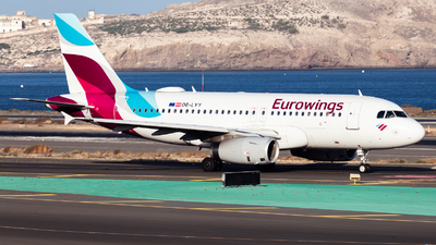 A picture of OELYY - Airbus A319132 - Eurowings - © Román A. Pérez