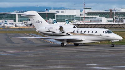N187CR - Cessna 750 Citation X - Private