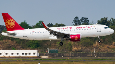 A picture of B1871 - Airbus A320214 - Juneyao Airlines - © Miaomiao