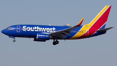 A picture of N770SA - Boeing 7377H4 - Southwest Airlines - © PAUL LINK