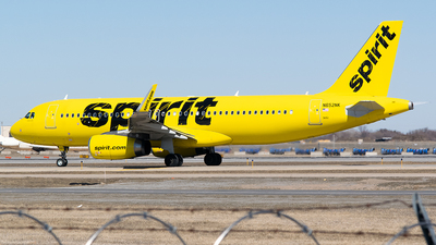 A picture of N652NK - Airbus A320232 - Spirit Airlines - © John Newsome
