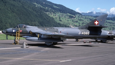 J-4080 - Hawker Hunter F.58 - Switzerland - Air Force