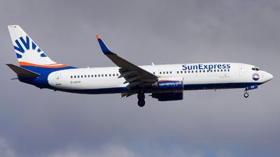 D-ASXV - Boeing 737-86Q - SunExpress