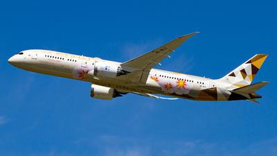 A6-BLS - Boeing 787-9 Dreamliner - Etihad Airways